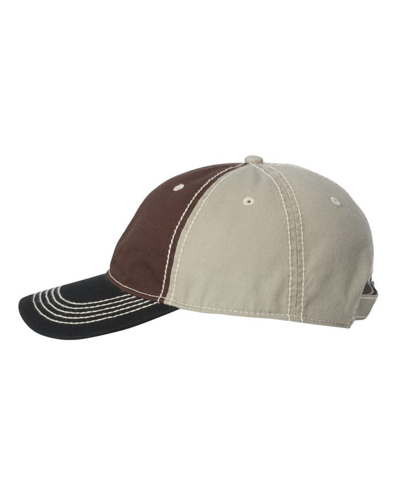 TPS300- Washed Chino Cap with Contrast Stitching