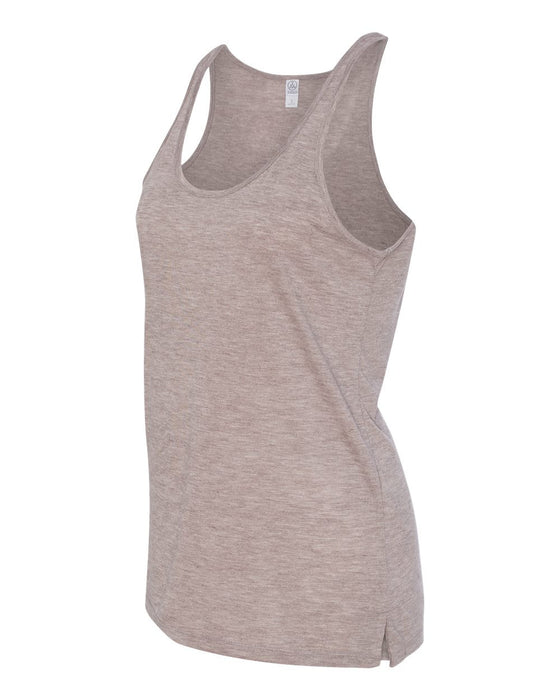 2833 - Women's Melange Burnout Jersey Airy Tank
