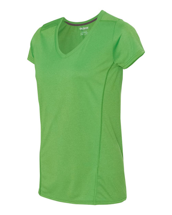 47V00L - Tech Women's Performance V-Neck T-Shirt