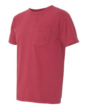 Comfort Colors - Garment Dyed Heavyweight Ringspun Short Sleeve Shirt with a Pocket - 6030