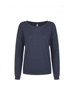 Next Level - Women's Terry Long Sleeve Scoopneck T-Shirt - 6931