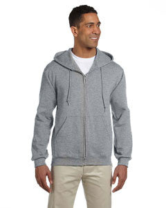 4999 - Jerzees Adult 9.5 oz., Super Sweats® NuBlend® Fleece Full-Zip Hood
