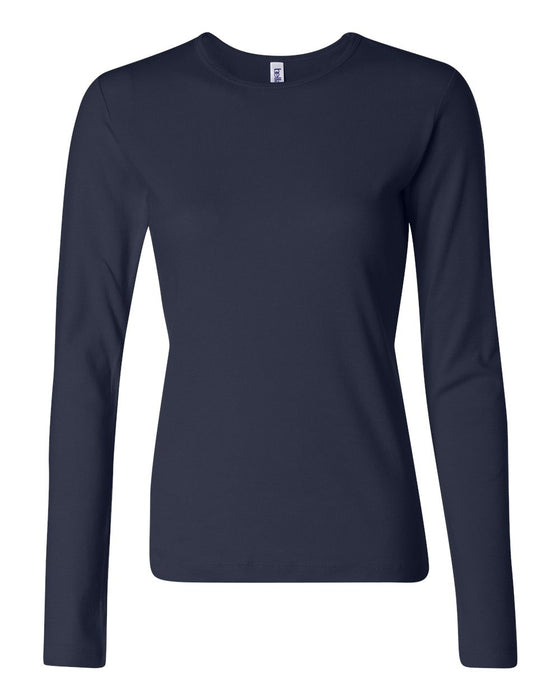 5001 - Women's Baby Rib Long Sleeve Tee