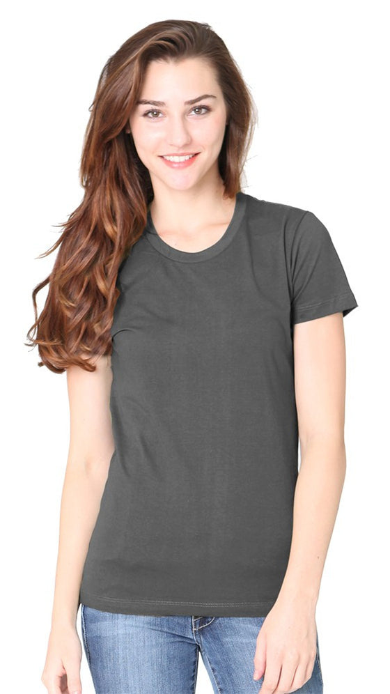 5001W Women's Short Sleeve Fine Jersey Tee