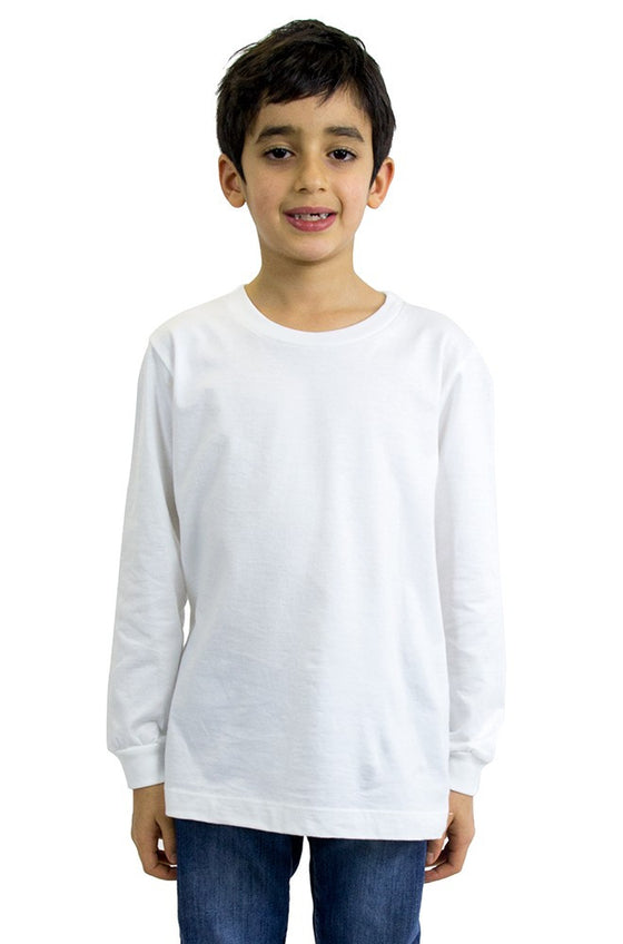 5022 - Youth Long Sleeve Crew