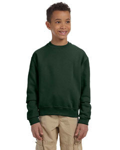 562B - Jerzees Youth 8 oz., NuBlend® Fleece Crew