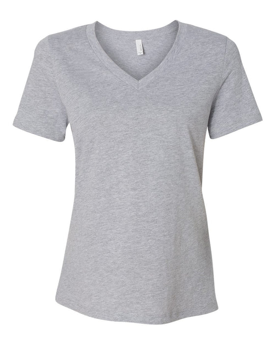 6405 - Women's Relaxed Short Sleeve Jersey V-Neck Tee