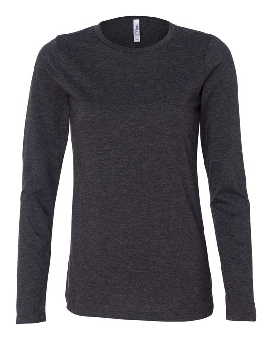 6450 - Women's Relaxed Long Sleeve Jersey Tee