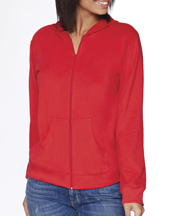 6491 - Next Level Adult Sueded Full-Zip Hoody
