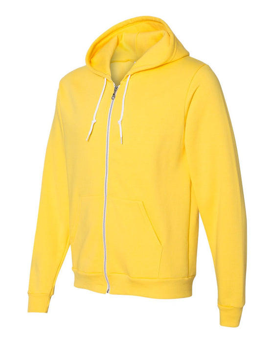 F497W American Apparel Unisex Flex Fleece Zip Hoodie