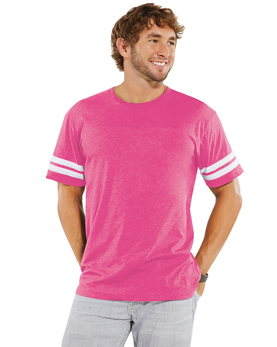 6937 LAT Men's Football Fine Jersey T-Shirt