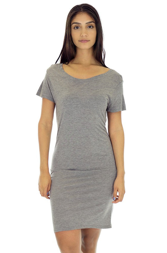 73028 Women's Bamboo Organic Tee Dress