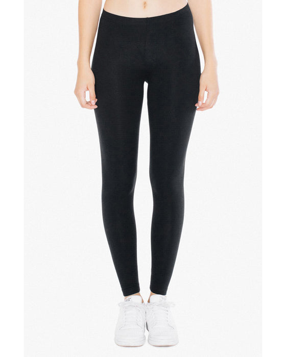 8328W American Apparel Ladies' Cotton Spandex Jersey Legging