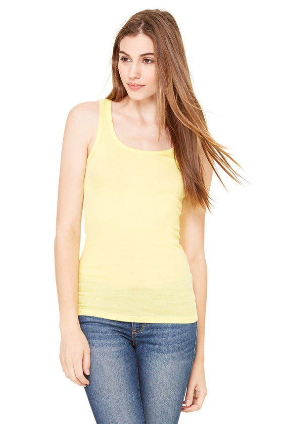 8780 - Women's Sheer Mini Rib Tank