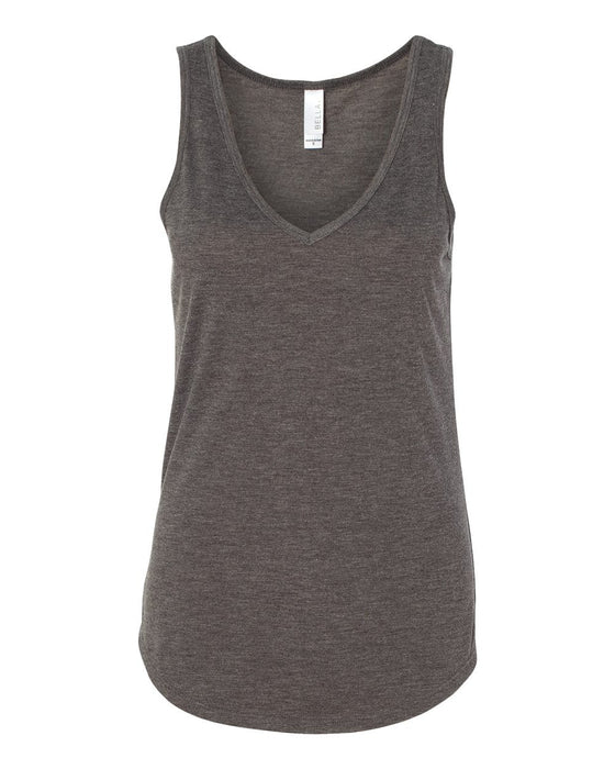 8805  - Women's Flowy V-neck Tank