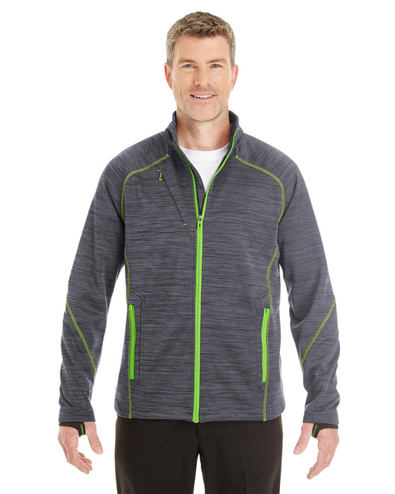 88697 - Men's Flux Mélange Bonded Fleece Jacket