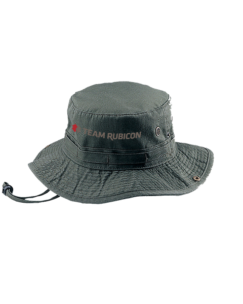 9013B - Cotton Twill Washed Hunting Hat