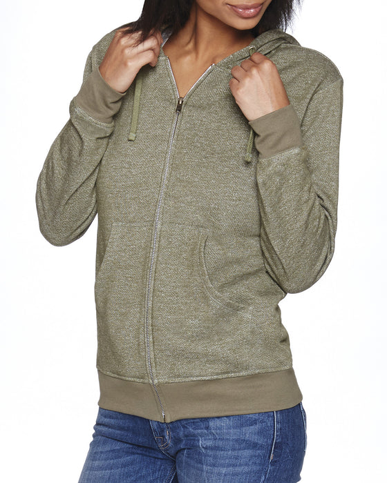 9600 - Next Level Adult Denim Fleece Full-Zip Hoody