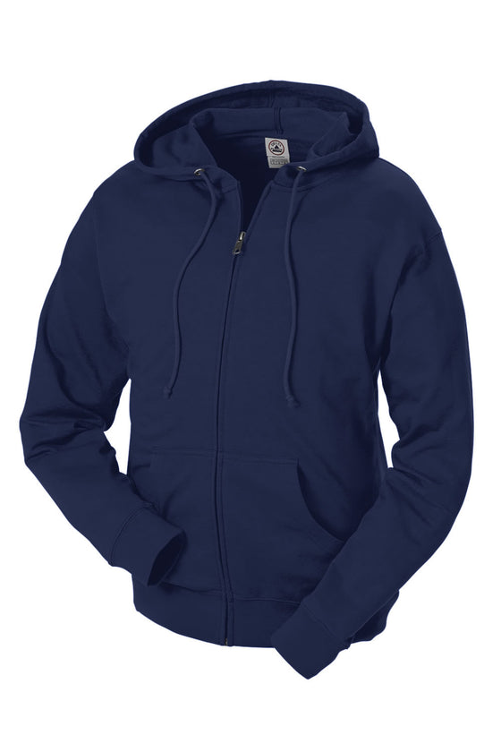 97300 - Adult Unisex French Terry Zip Hoodie