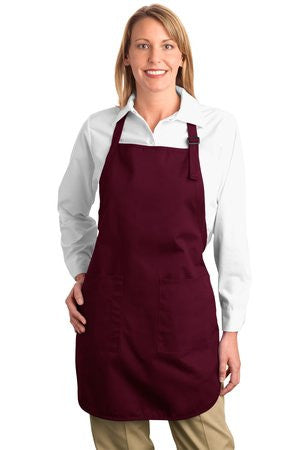 A500 - Full Length Apron with Pockets