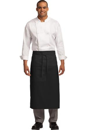 A701 - Easy Care Full Bistro Apron with Stain Release