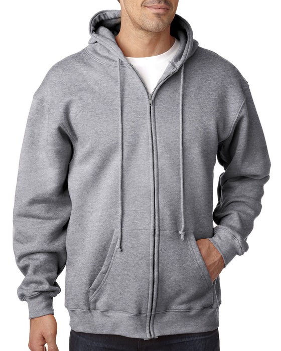 BA900 - Bayside Adult Adult Hooded Full-Zip Fleece