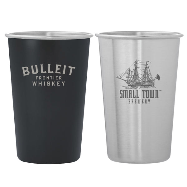 SSMUG07 Dubliner Stainless Steel Pint Glass Cup