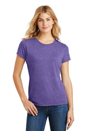 DM130L - Ladies Perfect Tri® Crew Tee