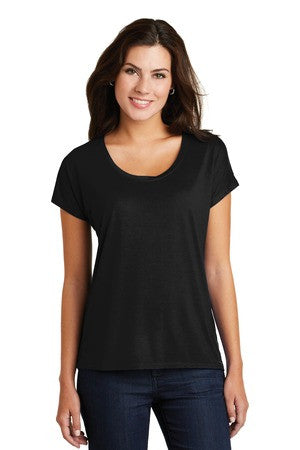 DM412 - Ladies Drapey Dolman Tee