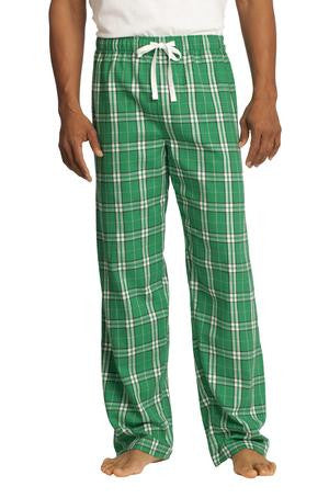 DT1800 - Young Mens Flannel Plaid Pant