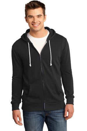 DT190 - Young Mens Core Fleece Full-Zip Hoodie