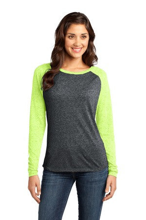 DT262 - Juniors Microburn® Long Sleeve Raglan Tee