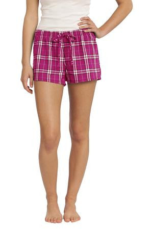 DT2801 - Juniors Flannel Plaid Boxer