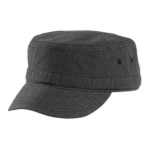 DT619 - Houndstooth Military Hat