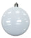"8SPD 3"" Promotional Shatterproof Disc Ornaments with Pad Print"