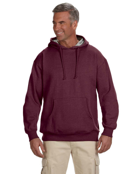 EC5570 - econscious Adult 7 oz. Organic/Recycled Heathered Fleece Pullover Hood