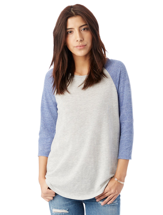 61352 - Women's Baseball Eco-Jersey Raglan T-Shirt