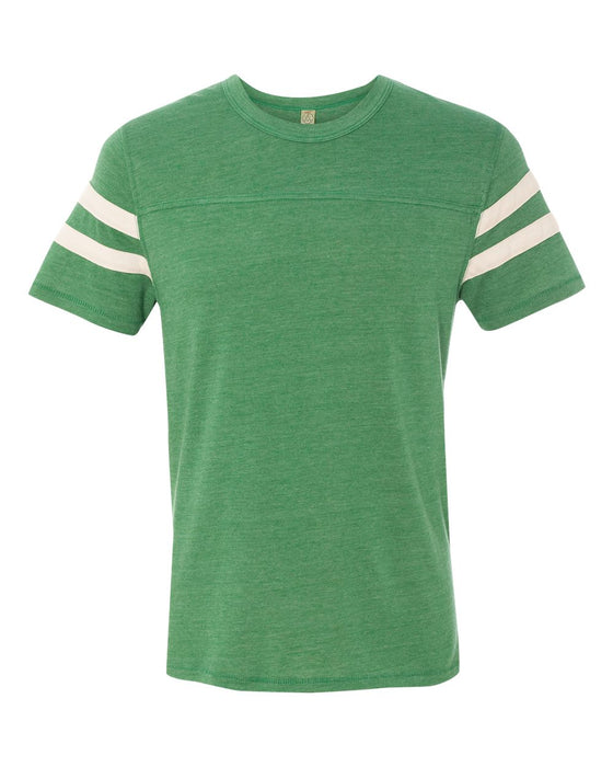 12150 - Eco-Jersey Short Sleeve Football T-Shirt
