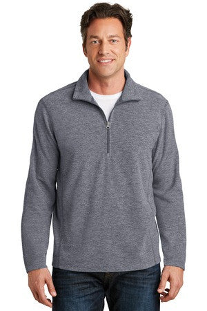 F234 - Heather Microfleece 1/2-Zip Pullover