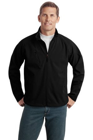 J705 - Textured Soft Shell Jacket