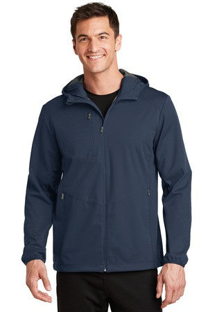 J719 - Active Hooded Soft Shell Jacket