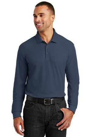 K100LS - Long Sleeve Core Classic Pique Polo