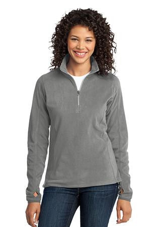 L224 - Ladies Microfleece 1/2-Zip Pullover