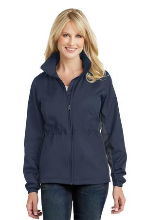L330 - Ladies Core Colorblock Wind Jacket