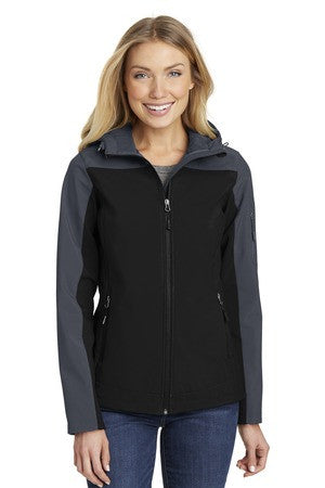 L335 - Ladies Hooded Core Soft Shell Jacket