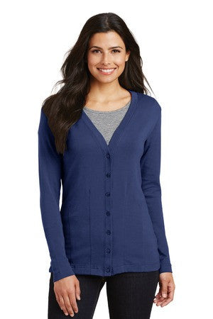 L515 - Ladies Modern Stretch Cotton Cardigan