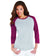 LA3530 - Ladies' Baseball Fine Jersey T-Shirt