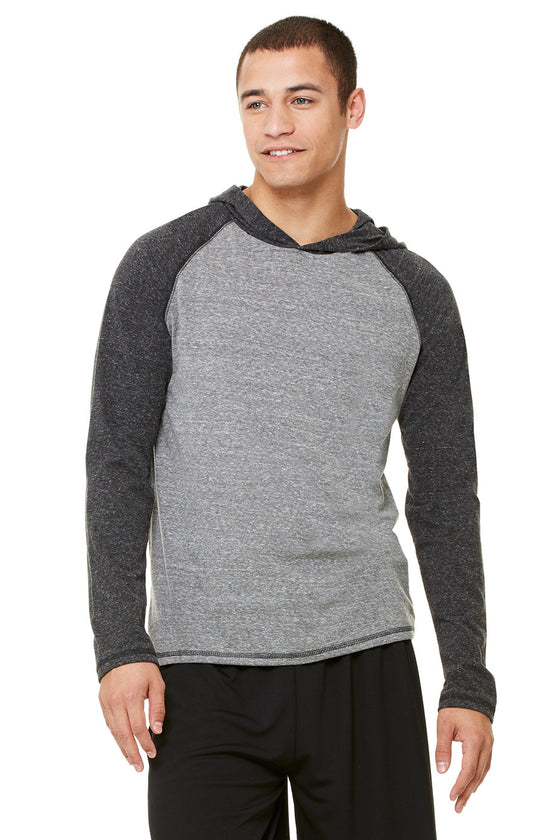M3101 - Men's Performance Triblend Long Sleeve Pullover