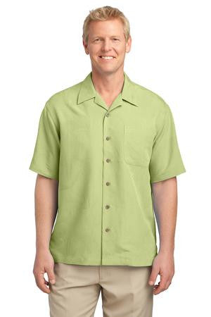 S536 -  Patterned Easy Care Camp Shirt
