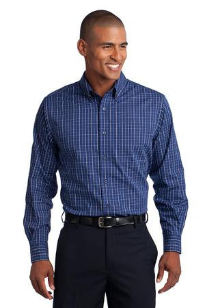 S642 - Tattersall Easy Care Shirt